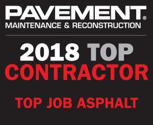 Top Contractor pavement maintenance